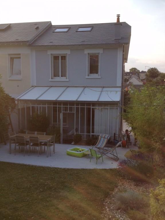 R alisation extension de maison sur le mans sarthe for Construction extension maison