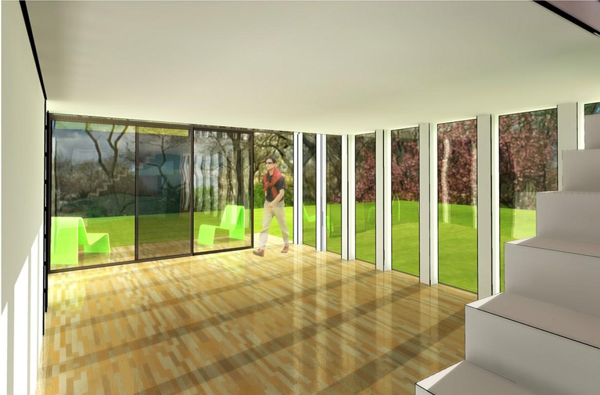Mod le construction maison contemporaine moderne sur le mans for Modele maison construction